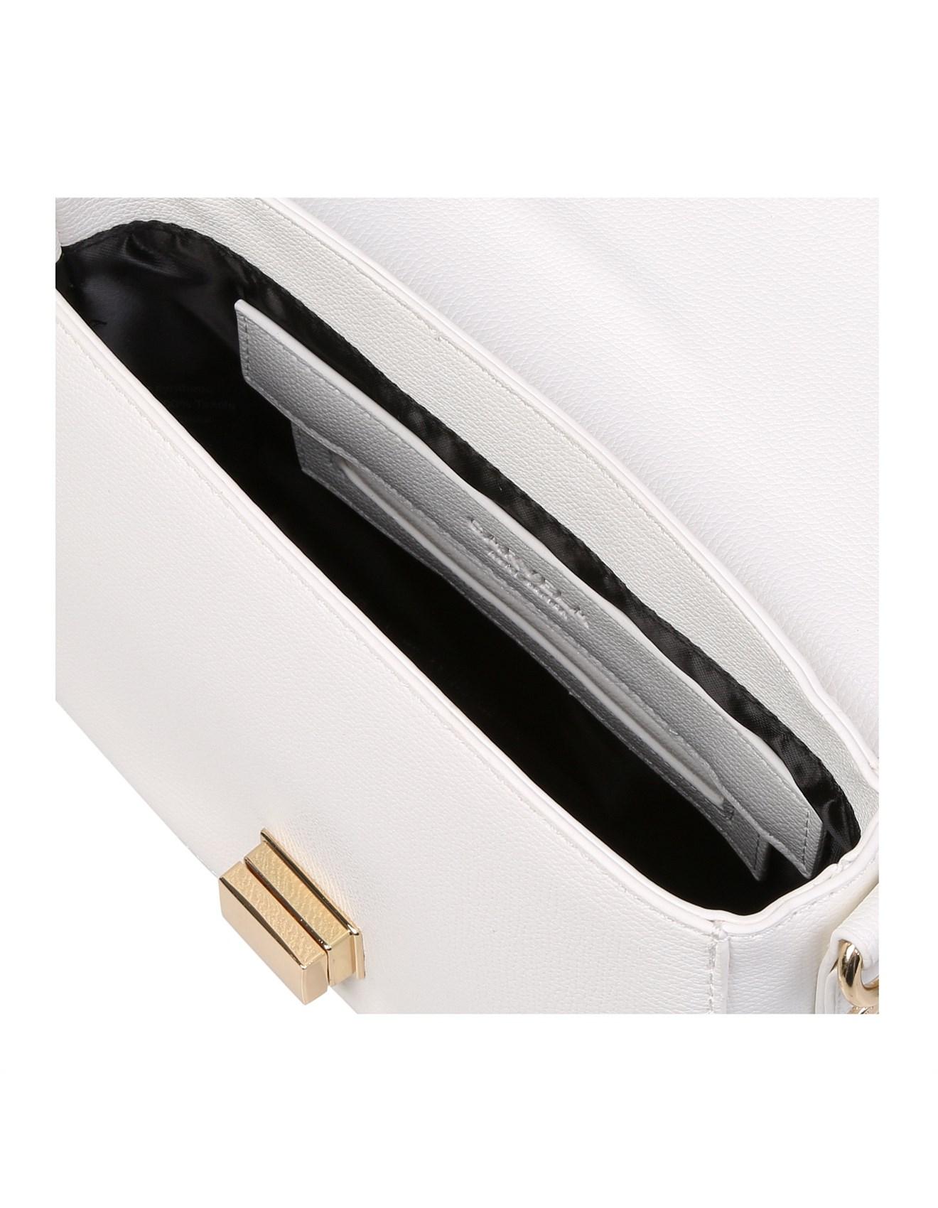CARVELA-SARA CLEAN SADDLE B-WHITE. 1 bc94583f0cee1