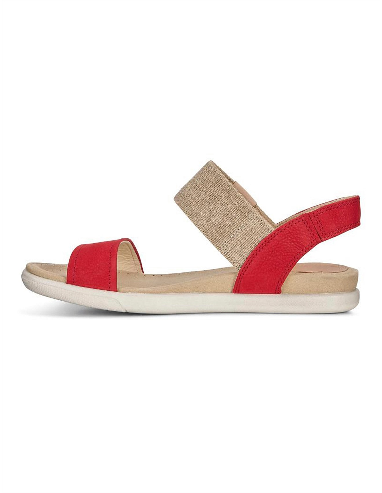 Damara Sandal Chili Red/Powder Cha/Samba Ecco MHKX64