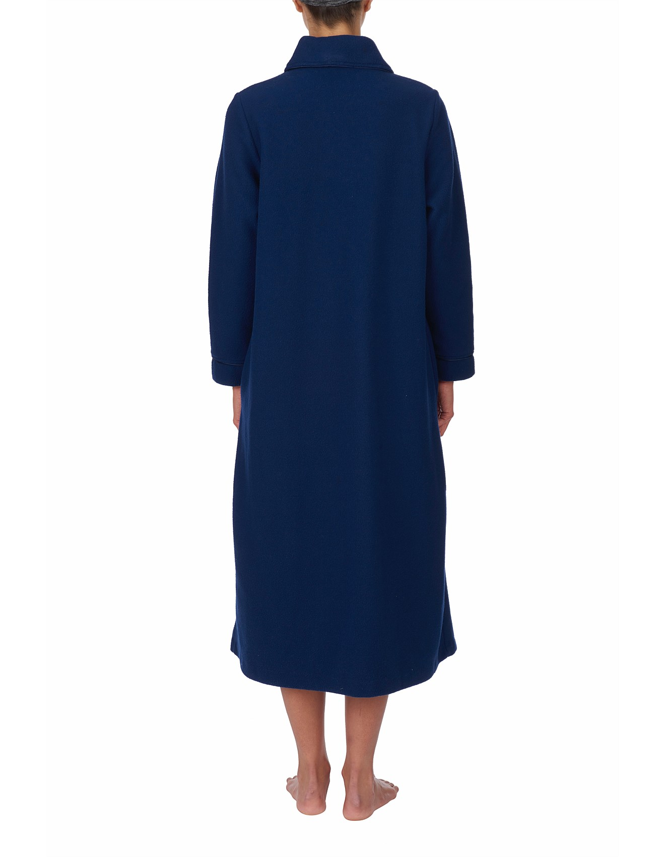 Dressing Gowns & Robes - Midlength Button Up Gown