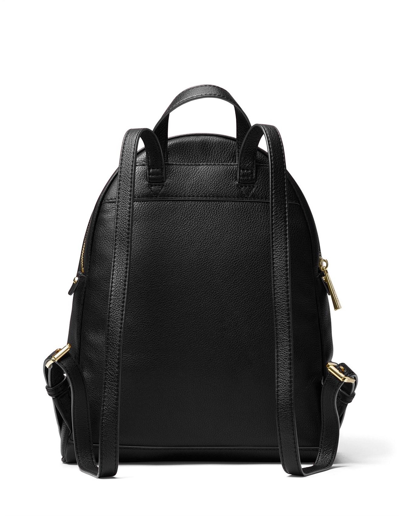 8575556c7cc5 ... shop rhea medium leather backpack michael michael kors d2ff6 0b214