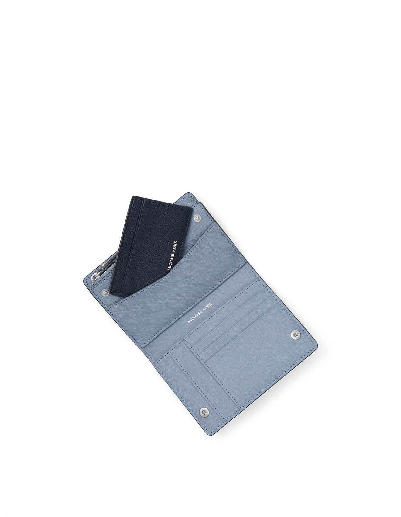 1be52e1c348f Jet Set Medium Saffiano Leather Slim Wallet. 1