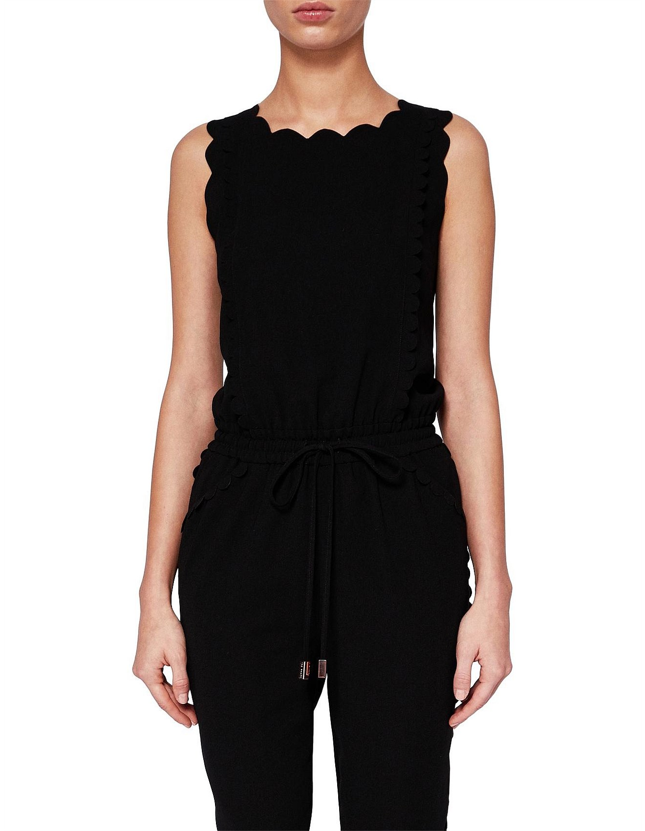 6c49c46a97d Sippy Scallop Detail Jumpsuit Special Offer. 1  2  3. Zoom. Ted Baker