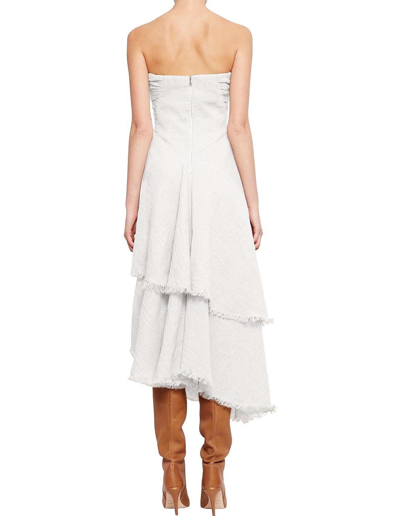 David Jones - Sea Change Strapless Dress