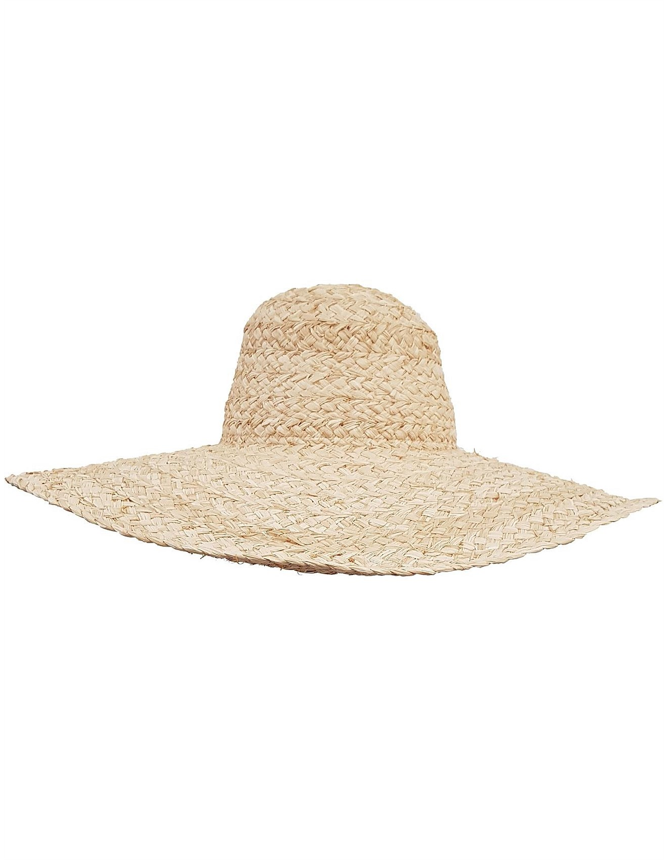 6da518b5d3355 WIDE BRIM HAT IN HAND WOVEN RAFFIA STRAW Special Offer. 1