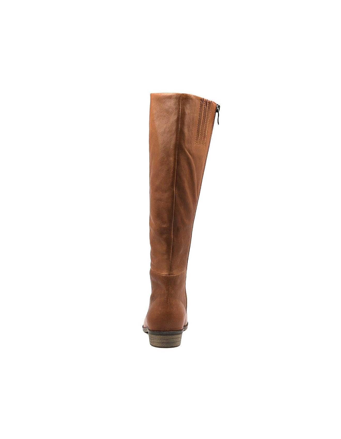 75028b084fcc Home · Knee High Boots; STARLING DK TAN LEATHER. STARLING DK TAN LEATHER. 1