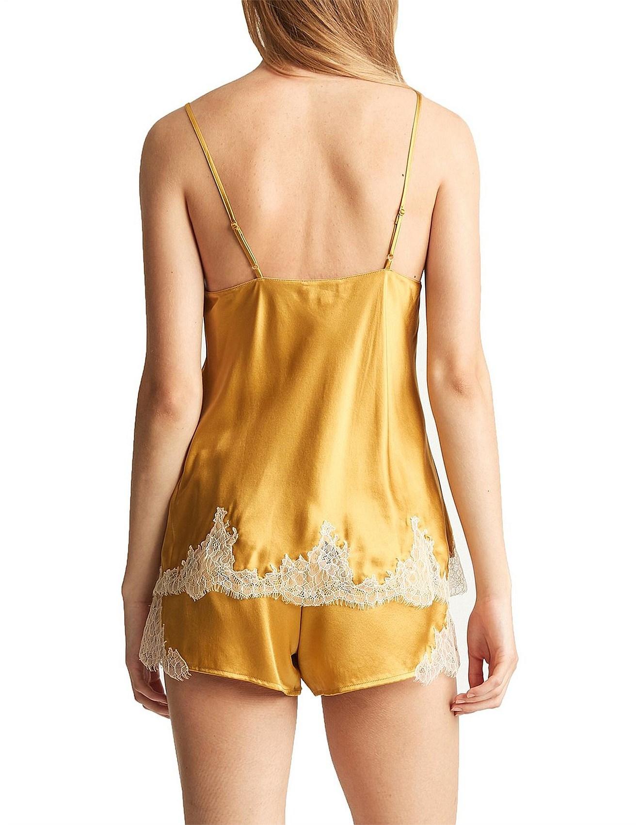 9597b6c9df60 Camisoles & Chemises - Baroque Lace Silk Cami