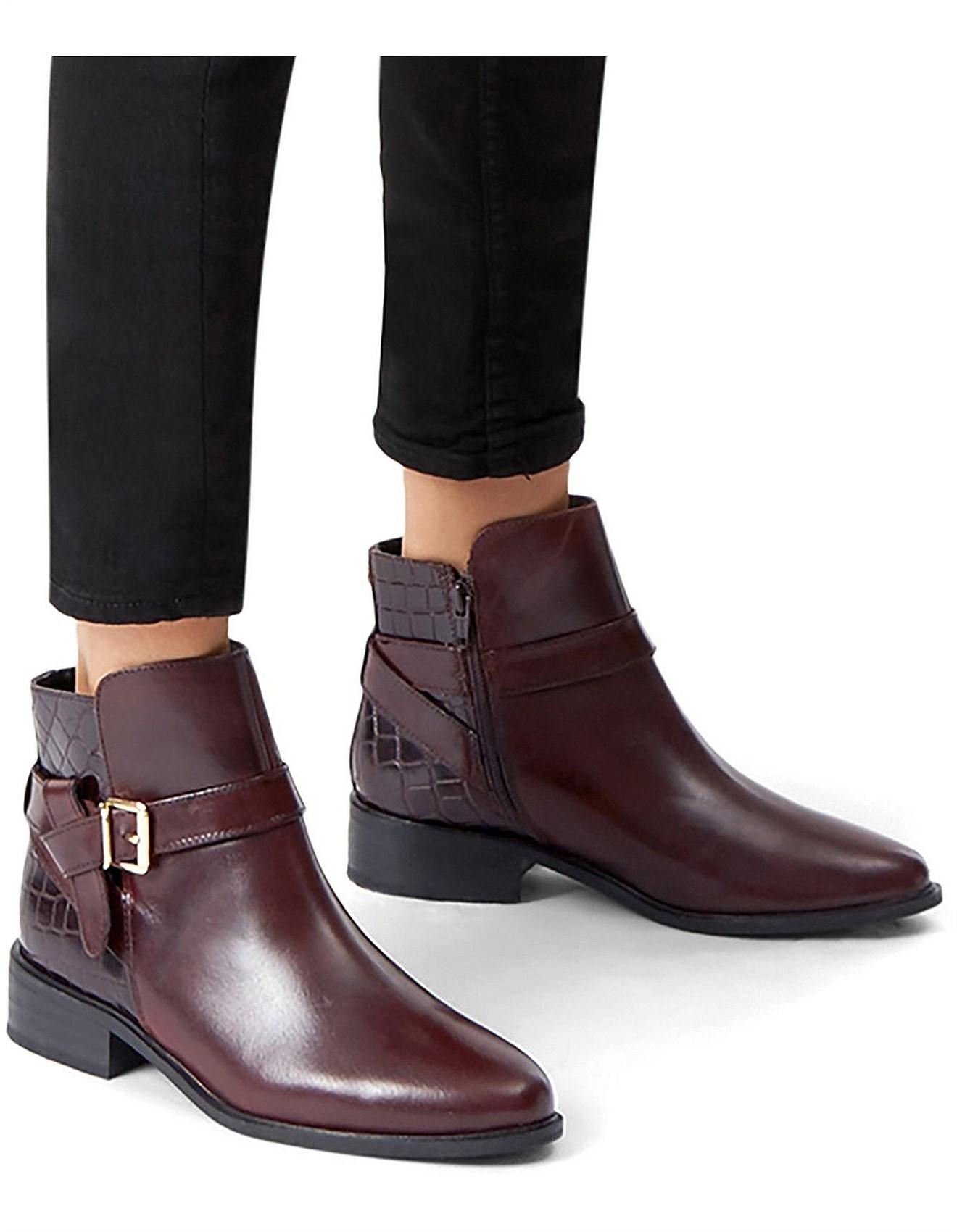 Flat \u0026 Heeled Ankle Boots