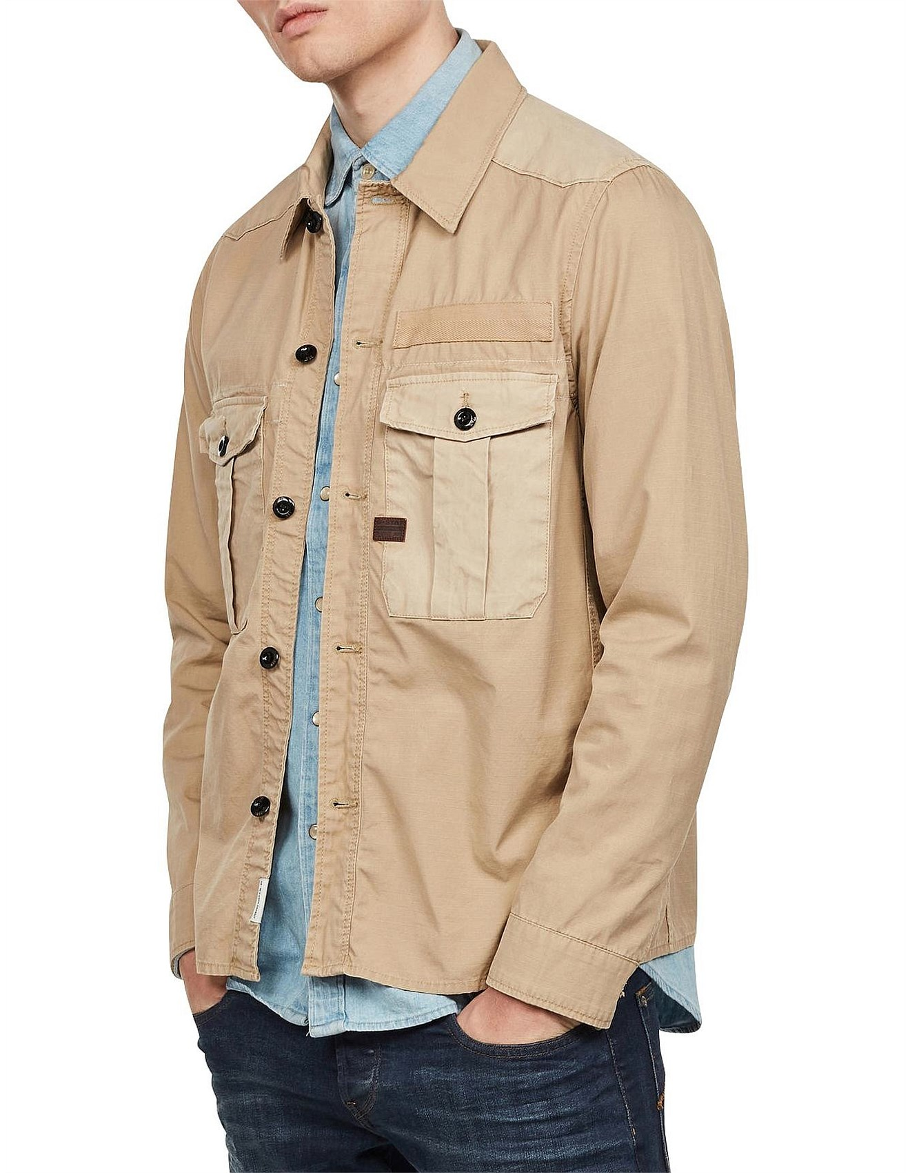 BROMID UTILITY STRAIGHT SHIRT LS