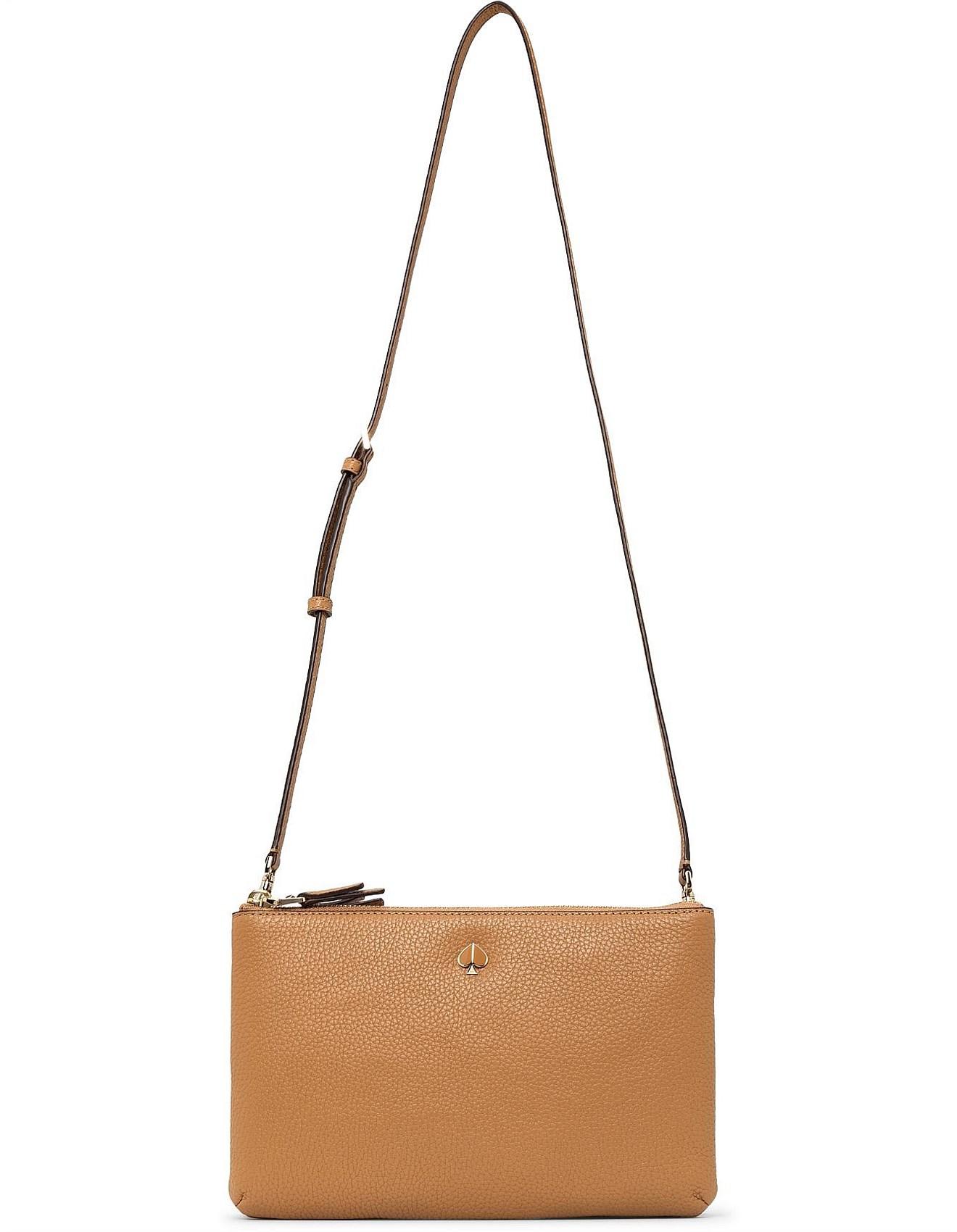 33e342ee2e3 Shoulder Bags - POLLY MEDIUM DOUBLE GUSSET CROSSBODY