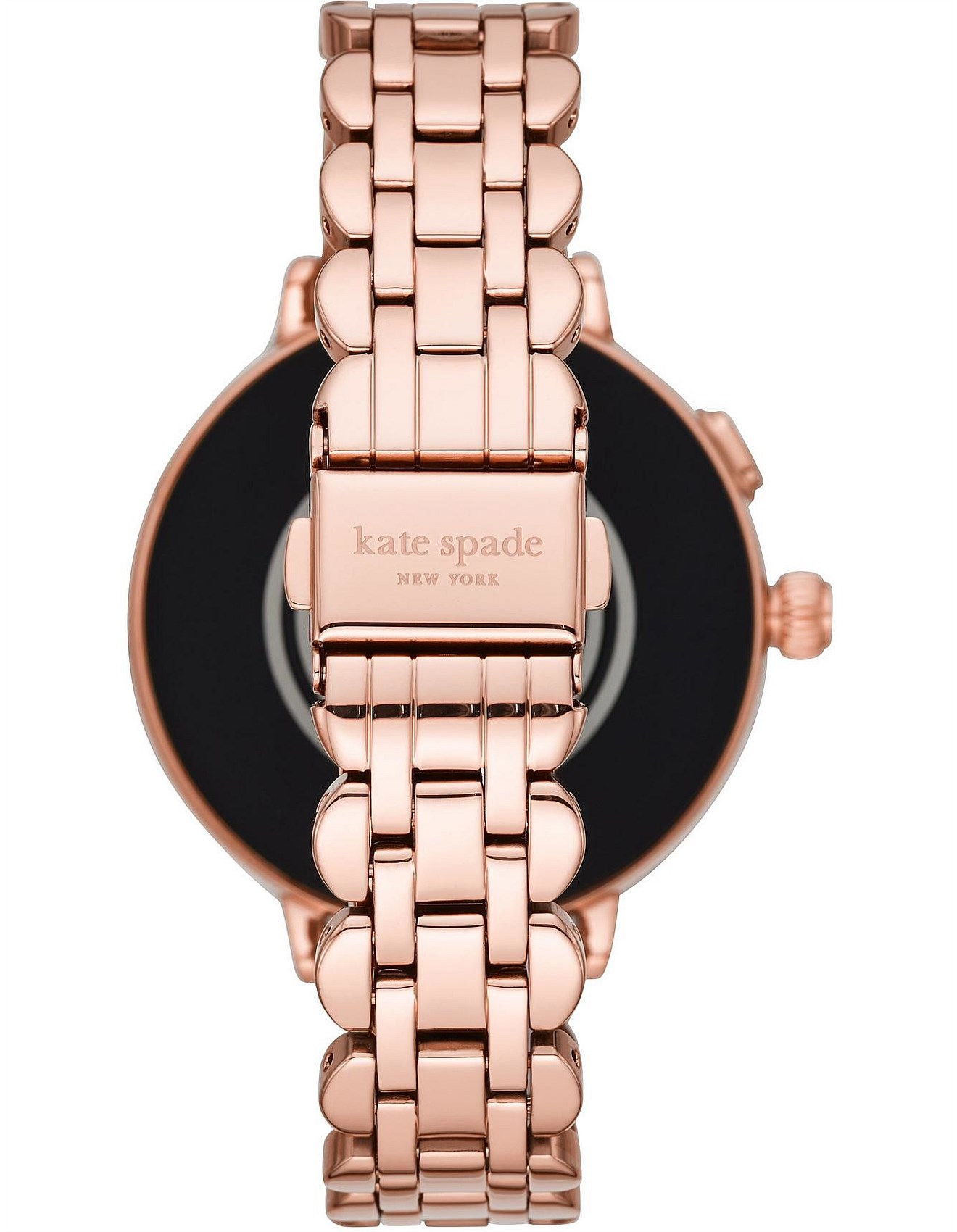 Smart Watches For Women Apple Watches More David Jones Scallop Rose Gold Display Smartwatch