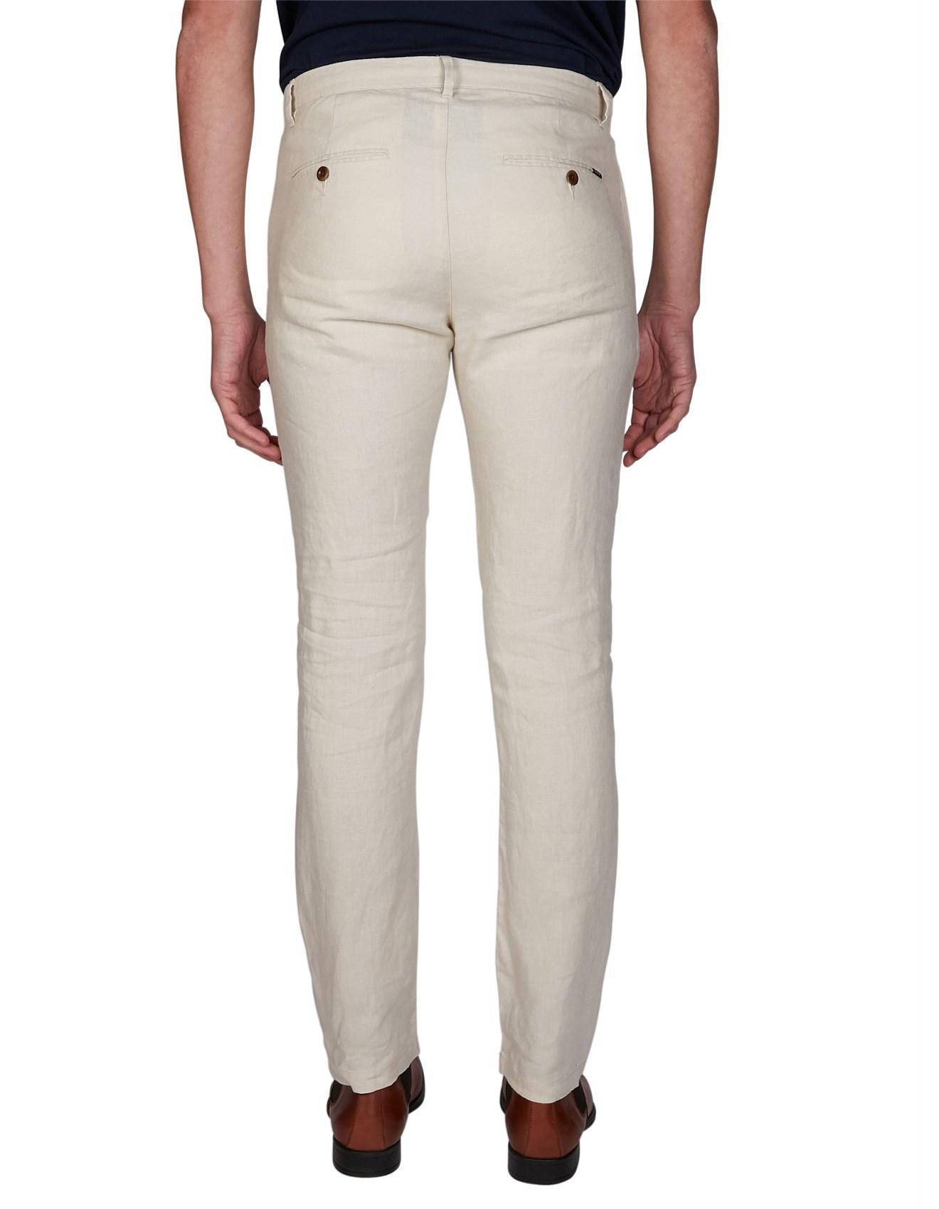 Gant Shorts Gant Men/'s Relaxed Linen Shorts Putty