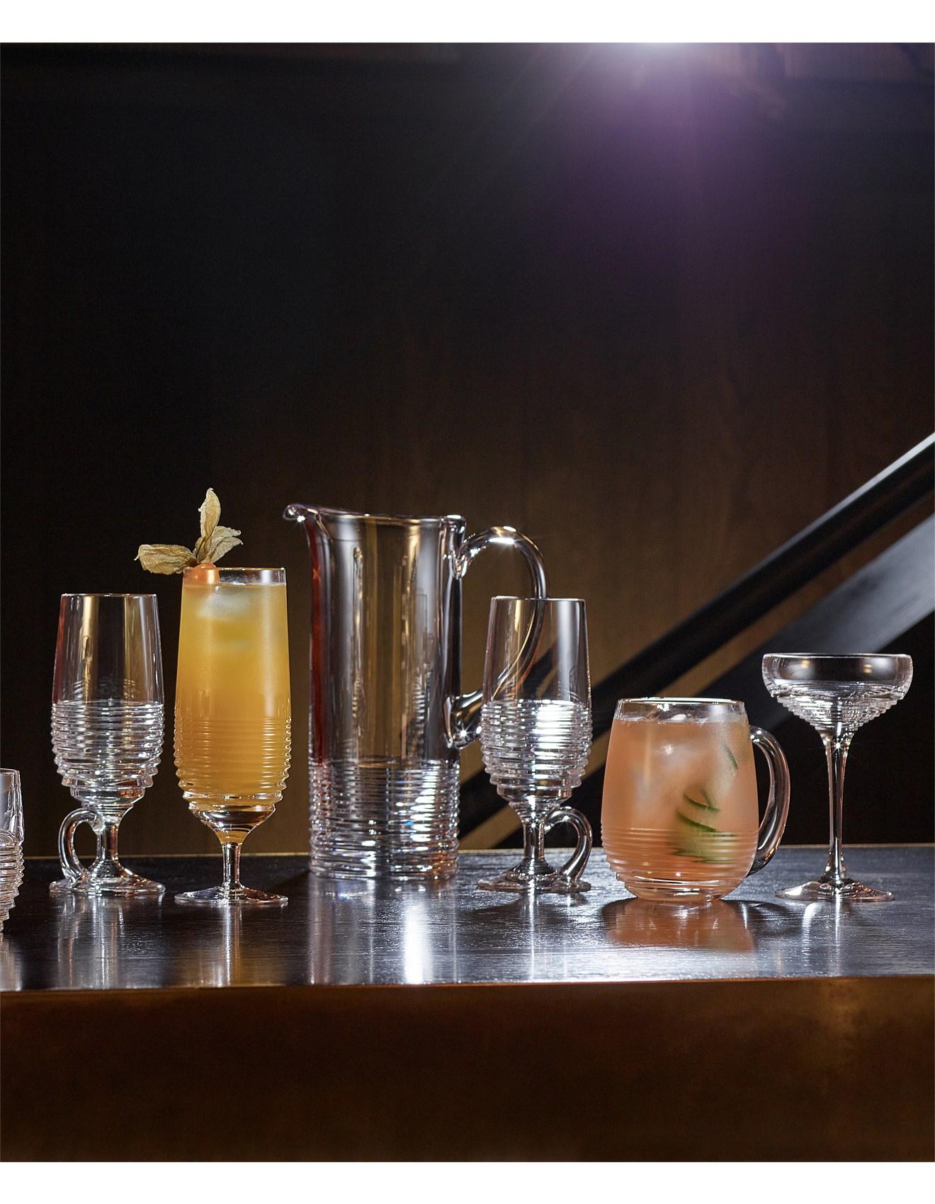 Cocktail Glasses Martini Glasses More David Jones Mixology Circon Small Coupe Pair