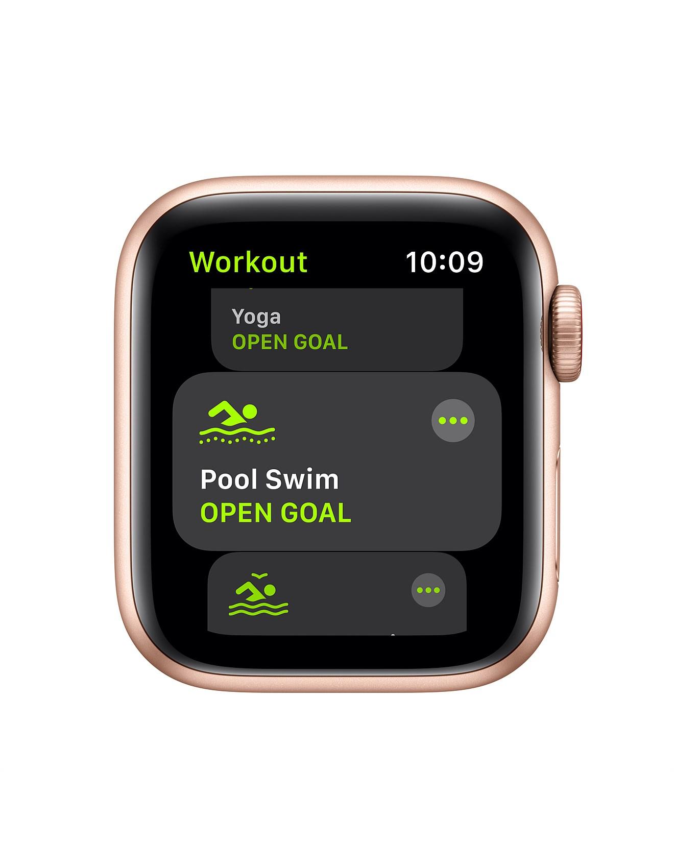 Apple Watch Watch Se Gps 40mm Gold Aluminum Case Pink Sand Band