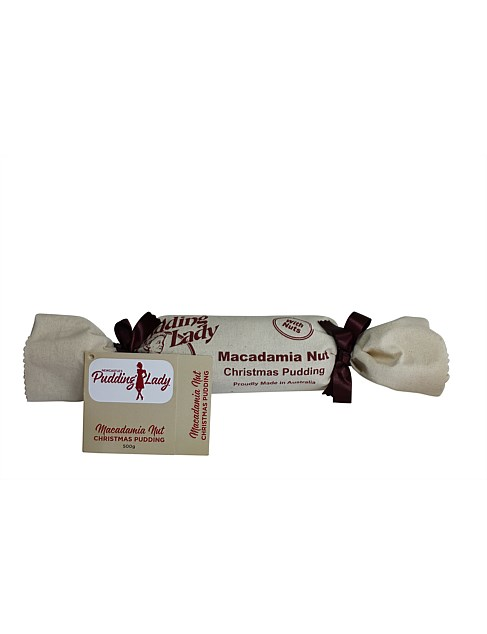 Christmas Pudding Log with Macadamia Nut 500G