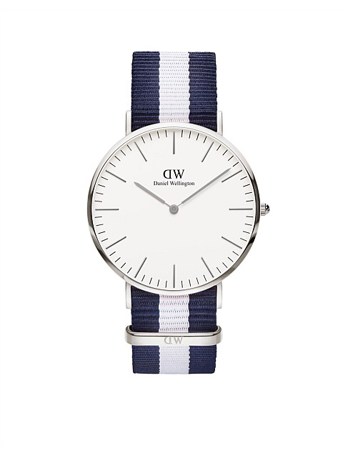 Classic Glasgow 40mm S White Dial Watch