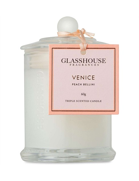 Venice - Miniature Triple Scented Candle 60g