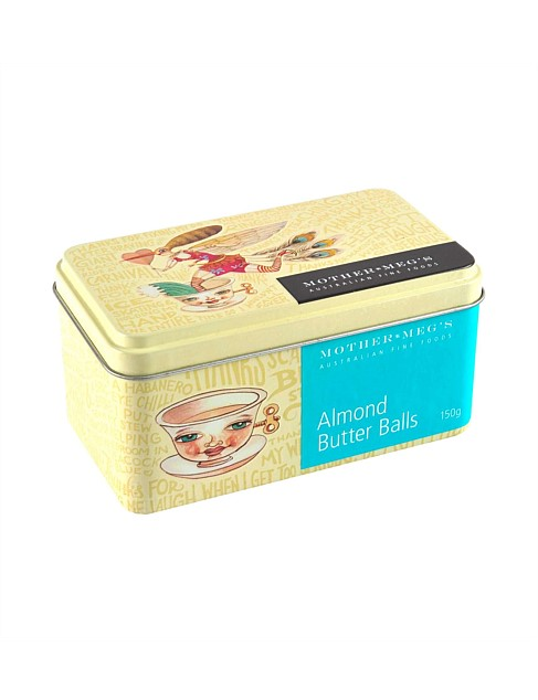 Almond Butter Balls Gift Tin 150g