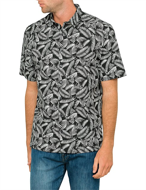 Printed Foliage Shirt