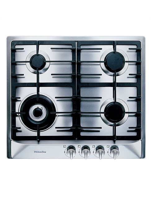 KM 362-1 G stainless steel gas cooktop
