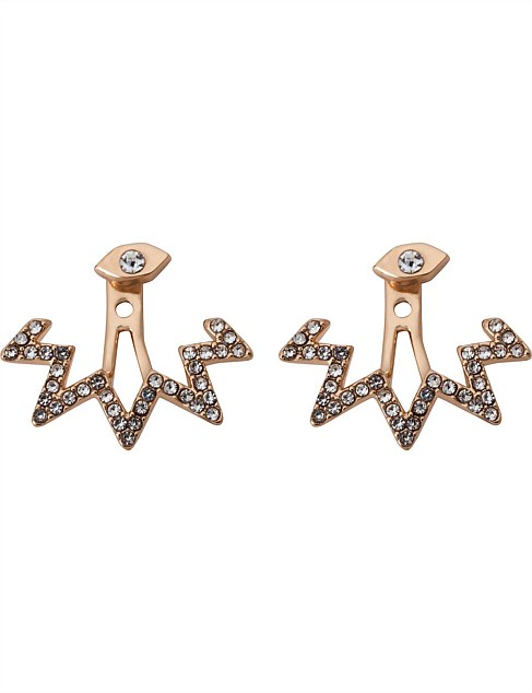 STARGAZING FRONT BACK EARRING