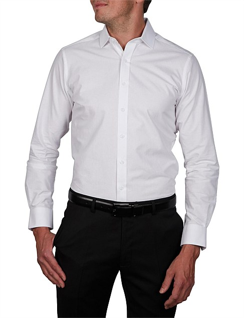 BENDEL BEDFORD HORIZONTAL SLIM FIT SHIRT