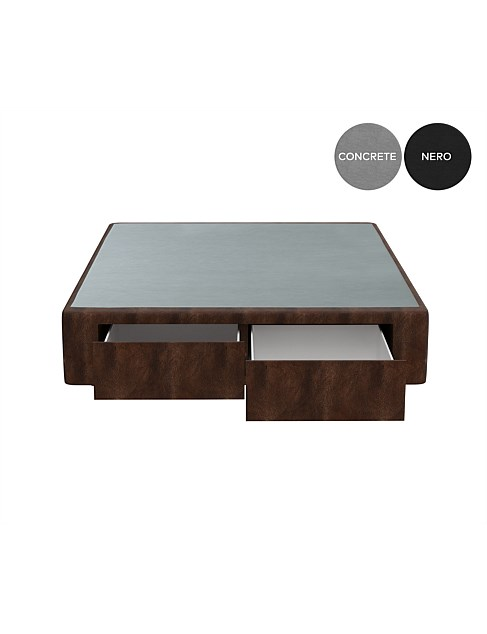 LEATHER DRAWER BASE (END)