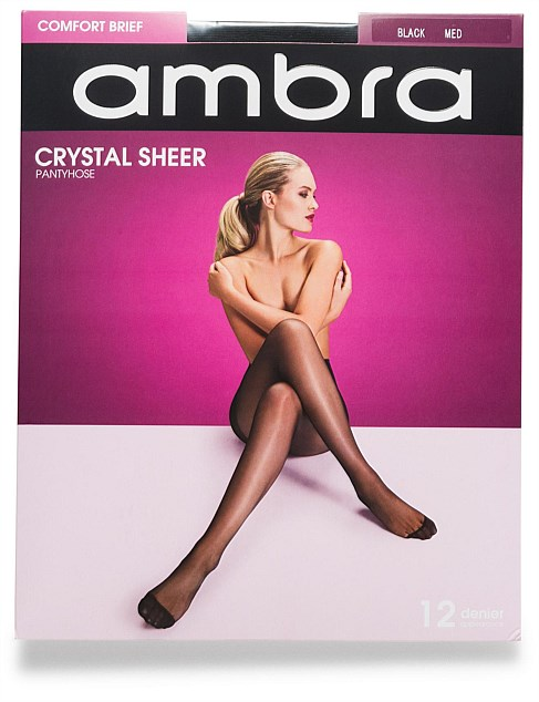 Crystal Sheer Comfort Brief Pantyhose