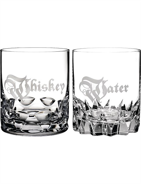 Waterford Short Stories Water/Whisky DOF Pair