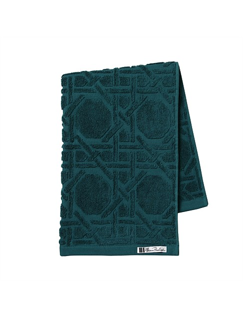 OCTAGONAL LATTICE HAND TOWEL