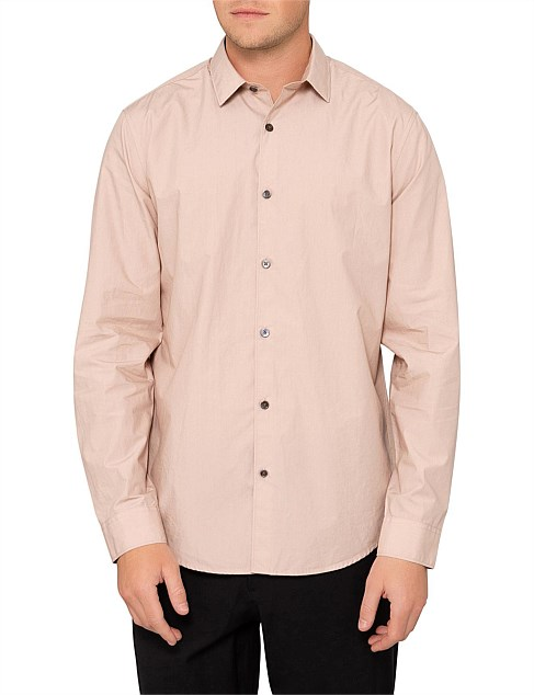 Murrary Mercerized Cotton/Linen L/S Shirt