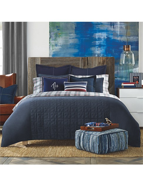 TH ACADEMY QUILT COVER SET DOUBLE
