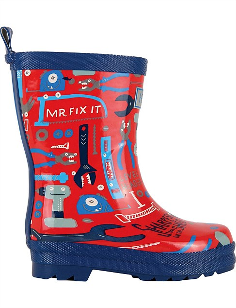 MR FIX IT WELLY BOOTS