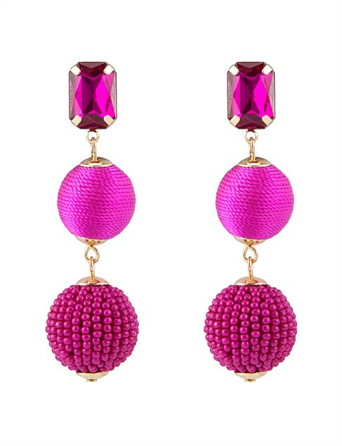 RICHNESS DROP EARRING