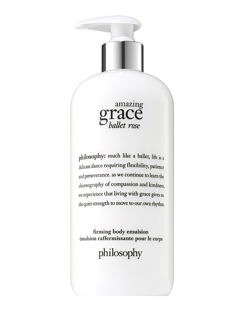 amazing grace ballet rose firming body emulsion 480ML