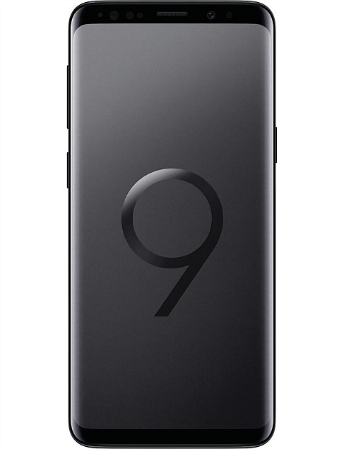 SAMSUNG GALAXY S9+ 256GB BLACK