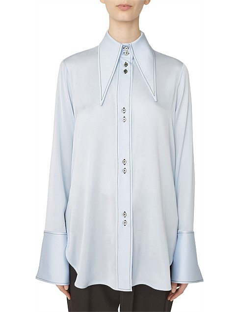 Bilbao Oversized Collar Blouse