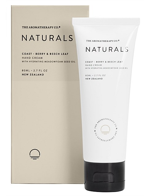 Naturals Hand Cream 80ml Coast Berry & Beech Leaf