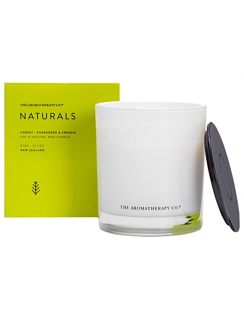 Naturals Candle 370g Forest Evergreen & Freesia