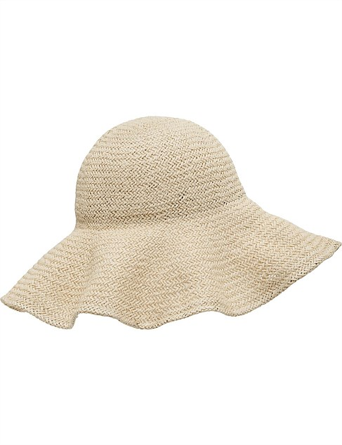 WOVEN WIDE BRIM HAT be724ad9c45