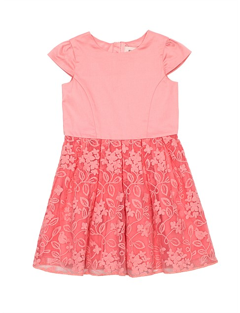 Embroidered Dress (Girls 3-7 Years)