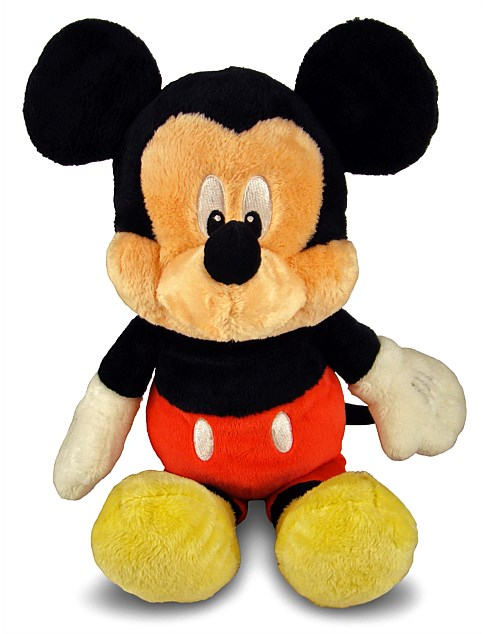 MICKEY MOUSE PLUSH W. CHIME