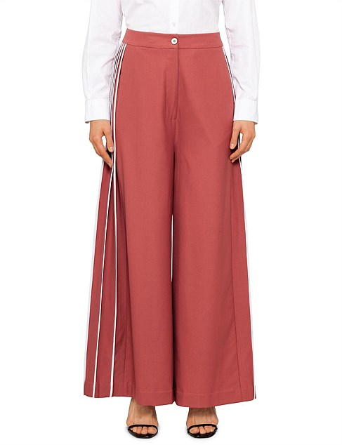 Side Pleated Trouser