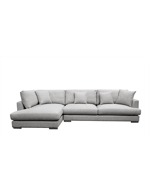 'Treviso' 2.5 Seat Sofa+Chaise - Thread Cloud