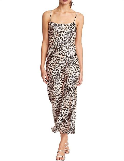Feline Midi Dress