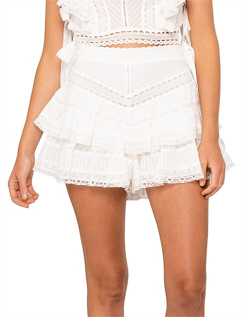9942337c6f Clothing - Heathers Pintuck Frill Short