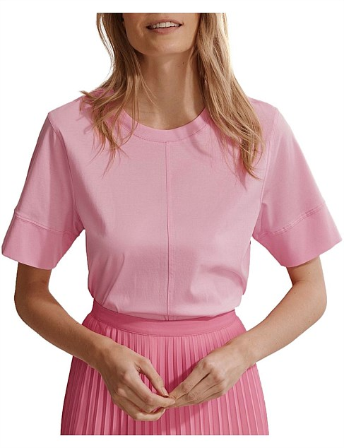 Structured Fashion T Shirt by Country Road