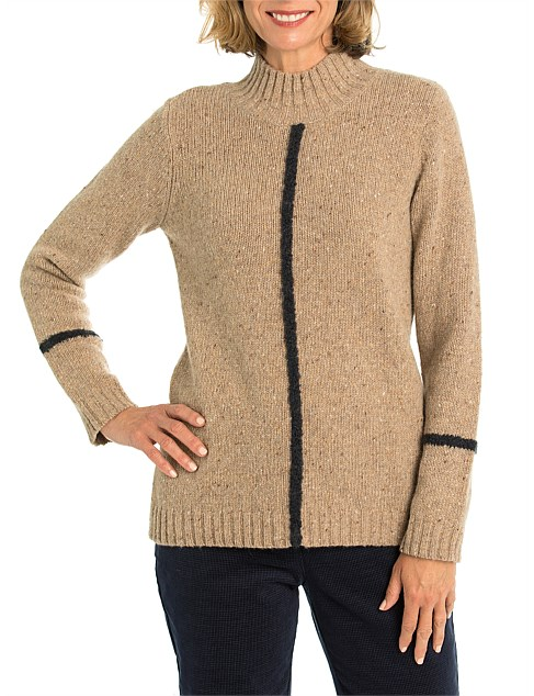 Tipping Stripe Knit