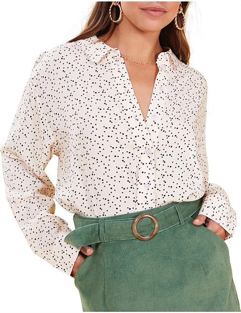 delightful button up shirt
