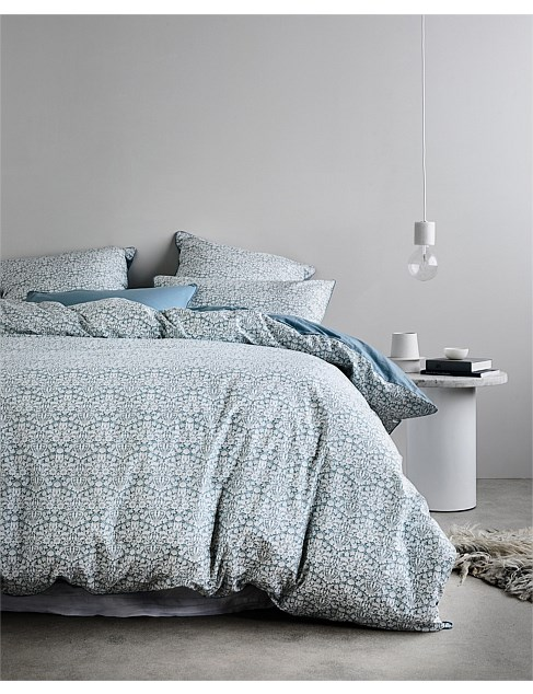 DOUBLE BED MORTIMER QUILT COVER SET