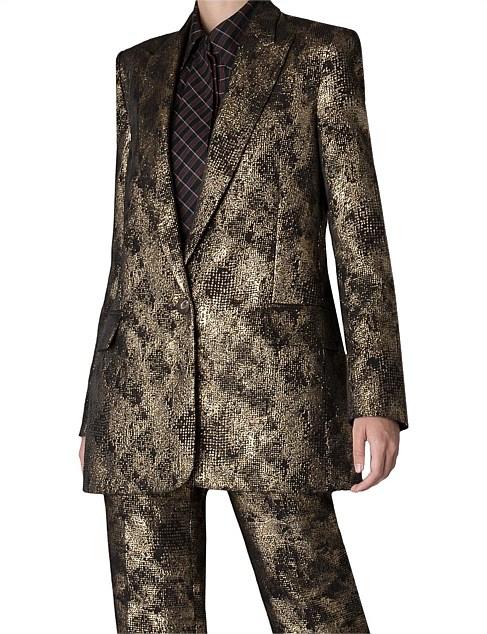 Gold Lurex Brocade Jacket